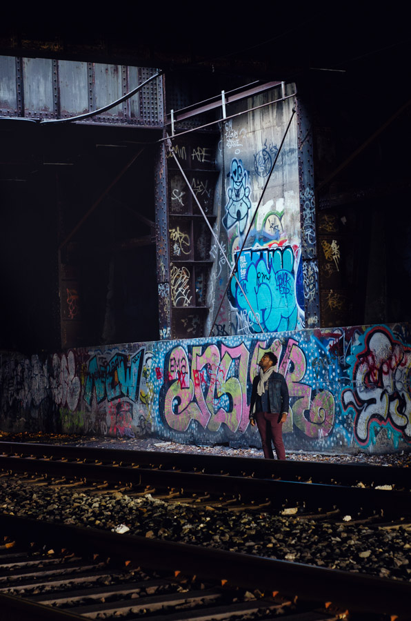 Melissa Segal Photographer newyork professional blog beauty man face portrait graffiti freedom tunnel tracks